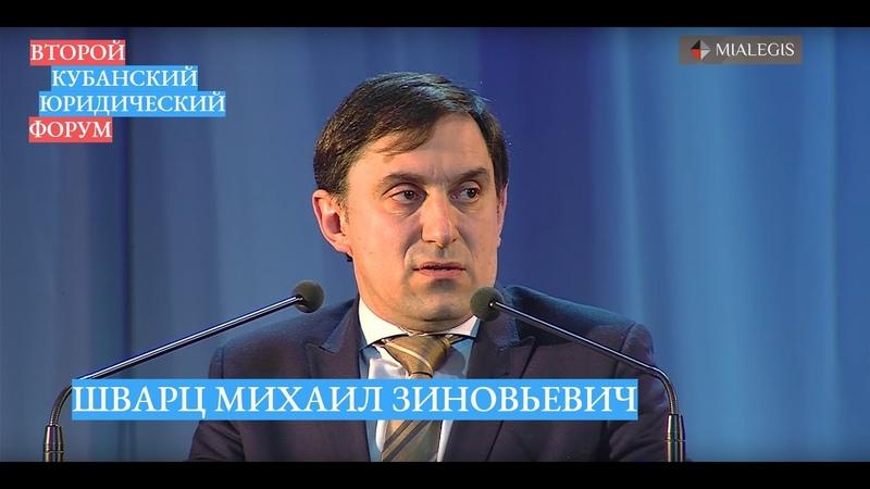 М.З. Шварц — Акт государственной регистрации права как предмет судебного оспаривания