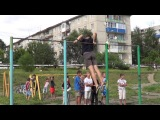 Street workout in Kansk