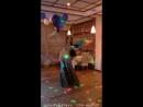 Ланара - восточный танец с верами-вейлами в кафе Пирамида Desert Rose