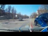 Acura MDX и неадекватный водитель. Киев.