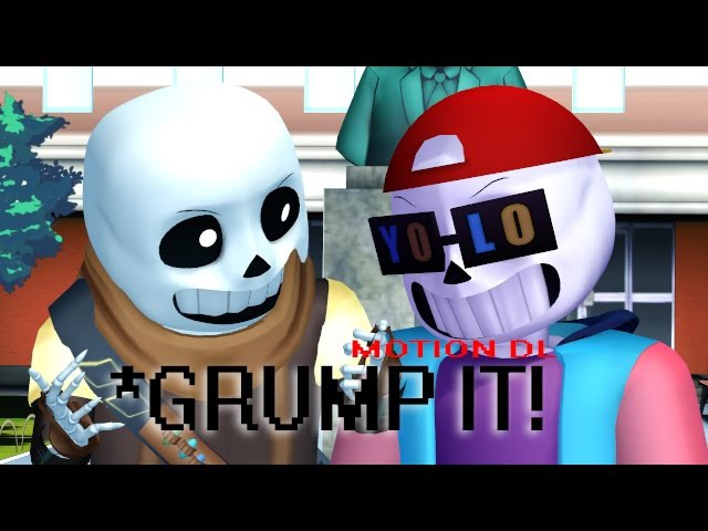 [MMD Undertale] Grump it! | Ink!Sans Fresh!Sans | MOTION DL