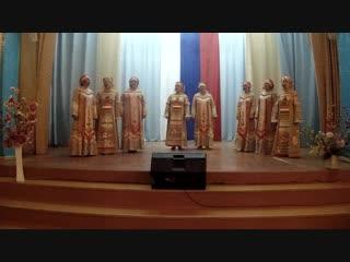Народный коллектив вокальная группа «Сударушка» - «Ой, то не вечер»