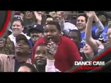 Kid has EPIC dance battle with a Security Man Dancer