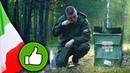=Обзор ИРП= ТЕСТ ИТАЛЬЯНСКОГО сухпайка. Челлендж 24 часа в лесу. Выживание
