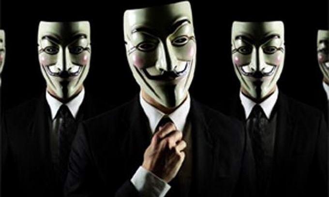 Маска анонімцсів
