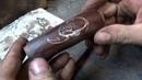 Как придать фактуру рукояти ножа с инкрустацией (сделать подрезку)