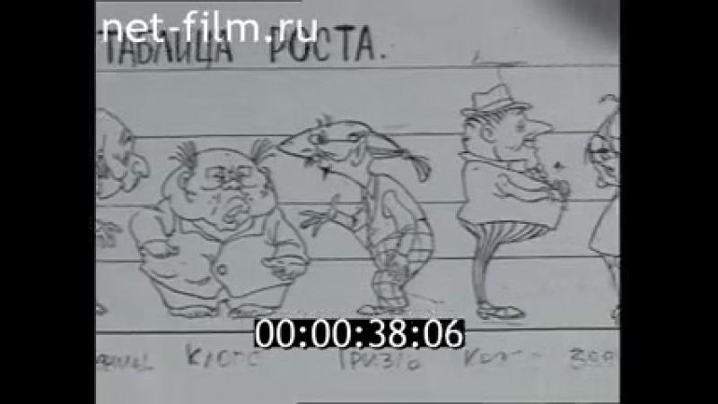 Юрий Бутырин мультипликатор. (1998)