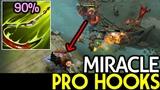 Miracle- Pudge Pro hooks 90 Accuracy 7.19 Dota 2