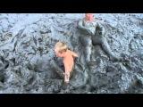 Купание в грязи на Азовском море п.Кучугуры