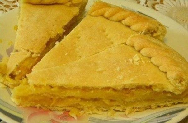 Песочный лимонный пирог рецепт с фото