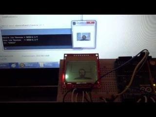 Web Cam Monitor using Arduino & Processing