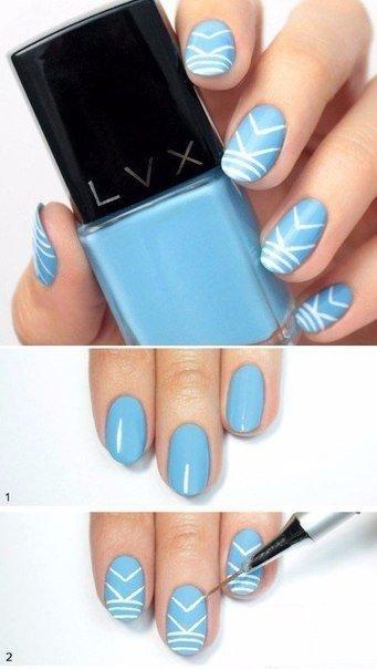 Дизайн ногтей на коротких ногтях в домашних условиях