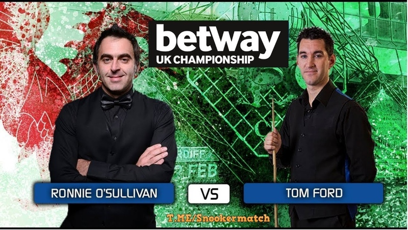 Ronnie O'Sullivan vs Tom Ford Short Form UK 2018 FULL HD