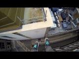 Паркур от Джеймса Кингстона, Cambridge Parkour POV - James Kingston, руфран, roof run