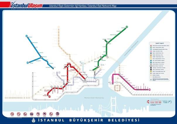Ольга, в Стамбуле метро есть.