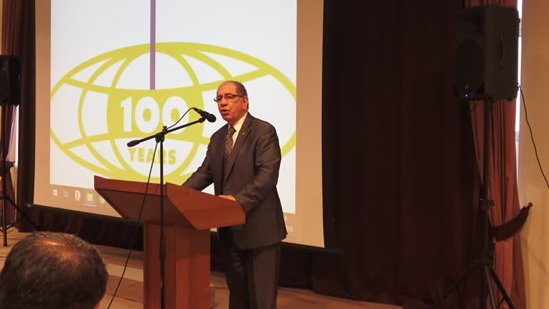 Տոնական համերգային ծրագիր՝ նվիրված ԱՀԱԸ ի 100 ամյակին ԱՀԱԸ ի գործադիր տնօրեն՝ պարոն Զավեն Խանջյան 25․05․2019