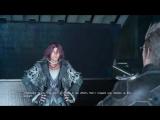 Новая сцена 5 главы в Final Fantasy XV c Apдинoм и главными гepoями.