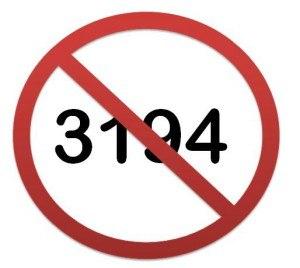 Почему возникает ошибка 3194