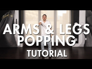 How to Pop - Arms Legs Popping (Hip Hop Dance Moves Tutorial) - Mihran Kirakosian