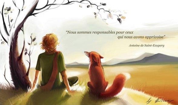 – Люди забыли эту истину, – сказал Лис, – но ты не забывай: ты навсегда в ответе за всех, кого приручил. Ты в ответе за твою розу.