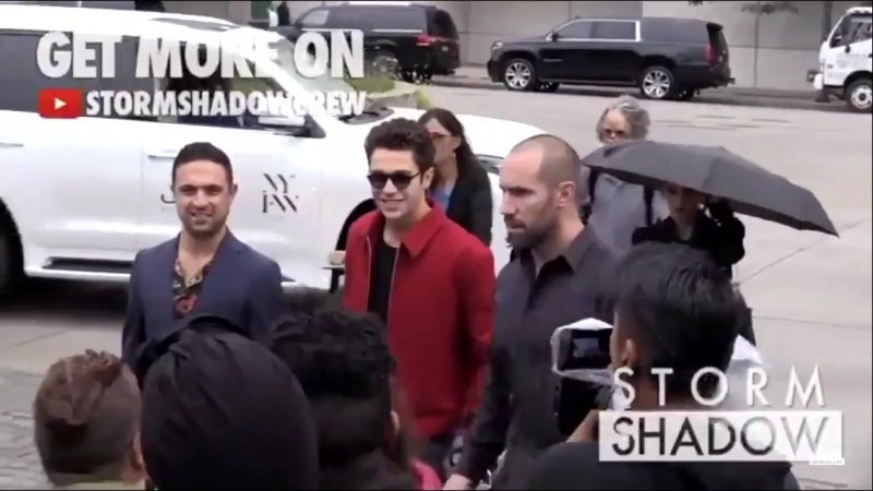 Austin Mahone attending to Brandon Maxwell, NYFW, New York