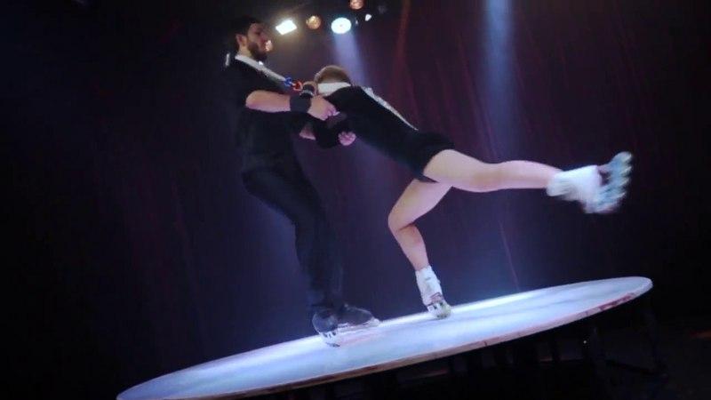 Шоу на роликах Екатеринбург Дуэт Неизвестные 7(343)213-90-59