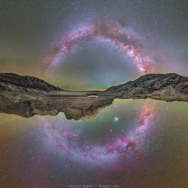 Вся плоскость Галактики
