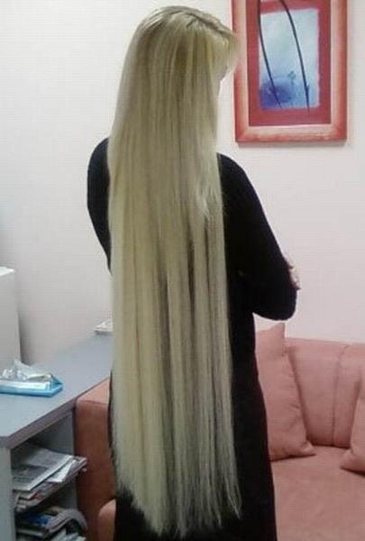 Наращивание волос не вредит