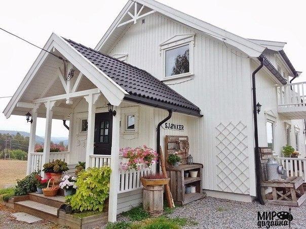 Декор дома в норвежском стиле (10 фото) - картинка