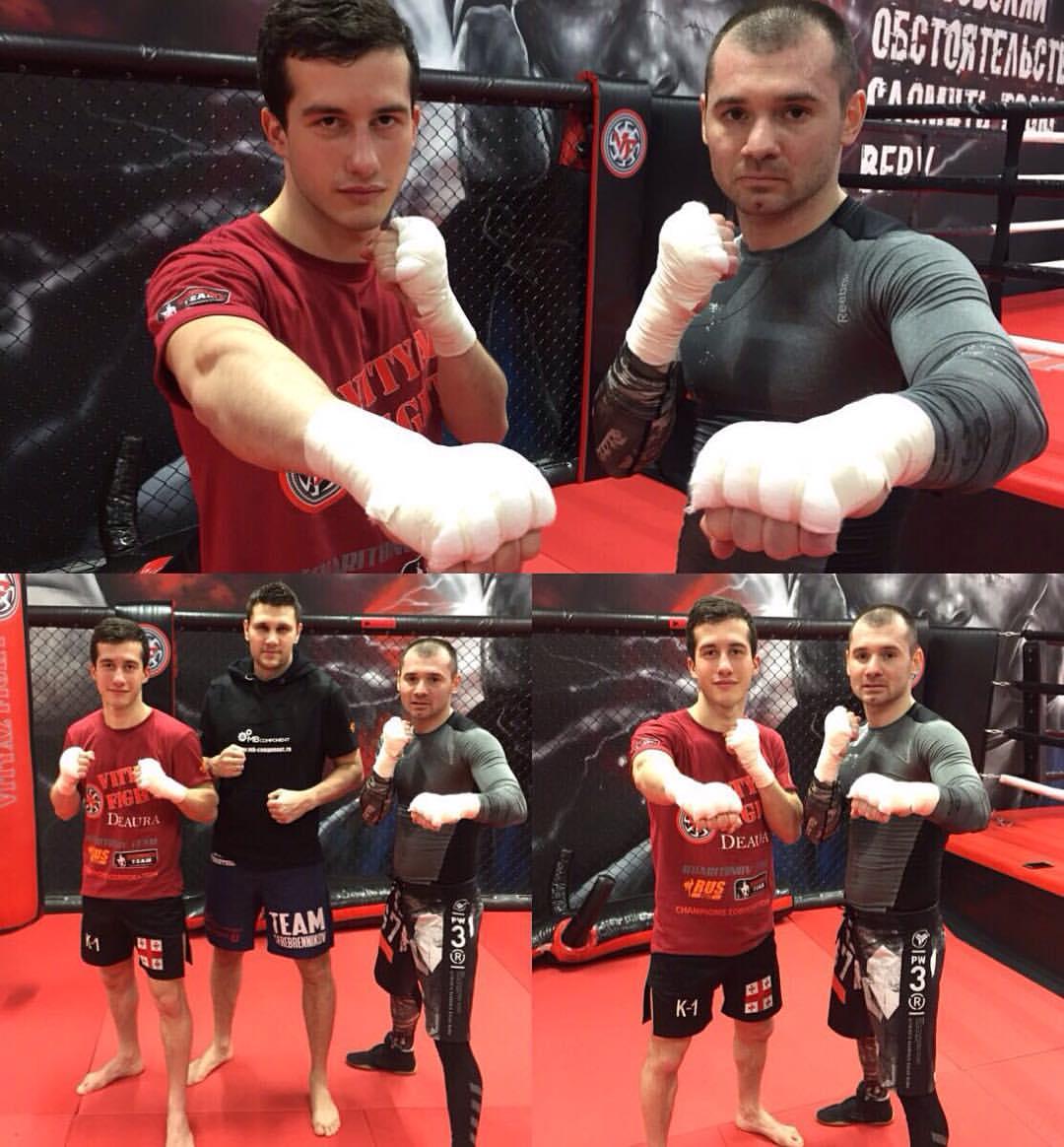 kickboxing zurab faroyan serebrennikov team