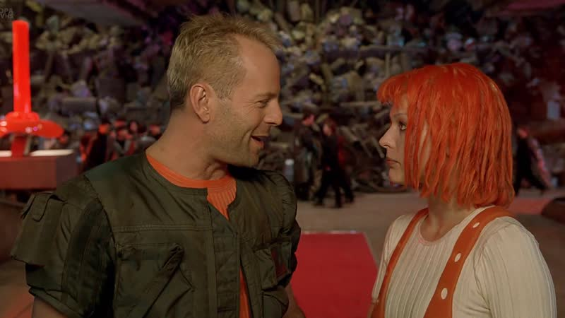 The Fifth Element (1997) WEB-DL 1080p [Open Matte] Дубляж «HTB-Профит»