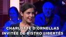 Bistro Libertés avec la journaliste Charlotte d'Ornellas