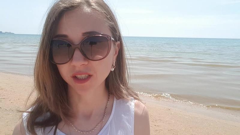 Анапа. Погода. ПРИШЛА ЖАРА. Пляж ДЖЕМЕТЕ