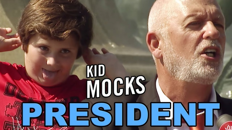 Kid MOCKS Presidential Election PRANK