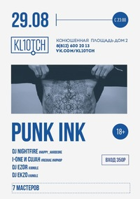 Punk ink * KL10TCH
