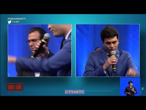 Nós sim, nós não, não sei! Bug em candidato ao vivo (Debate-SP, RedeTV! - 24/08/18)