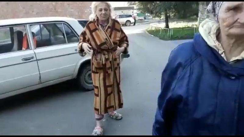 Бабушку жившую на вокзале отвезли к родственникам