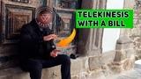 Telekinesis - Flying bill - Teacher Ersnt Veter