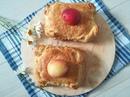 Слоеные мини-пироги с нектаринами