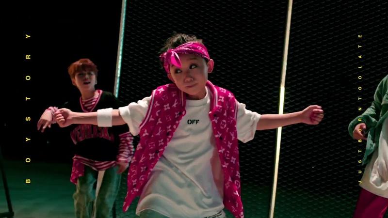 BOYSTORY 舞蹈视频《BURN》完整公开。请期待我们的第一支单曲~9月1日12PM 《HOW OLD R U》
