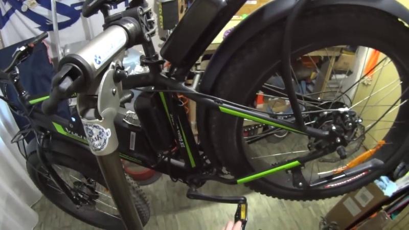 Полноприводный фетбайк велосипед