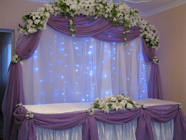 Как украсит свадебный зал своими руками фото