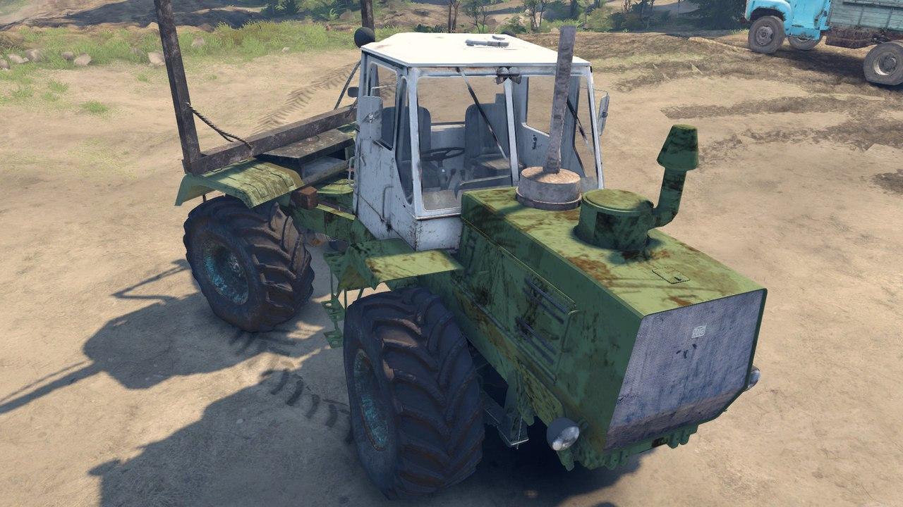 ХТЗ Т-150К Лесовоз для Spintires - Скриншот 1