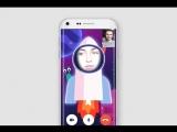 AR-маски в видеочатах Одноклассников