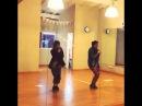 Мартина Штоссель, танец.