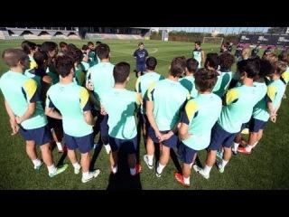 FC Barcelona - Tata Martino se reúne con toda la plantilla
