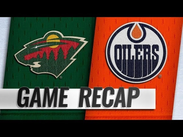 Minnesota Wild vs Edmonton Oilers – Oct.30, 2018 | Game Highlights | NHL 18/19 | Обзор матча