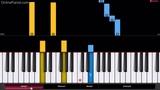 Alan Walker - Sing Me to Sleep - Piano Tutorial - Easy Version