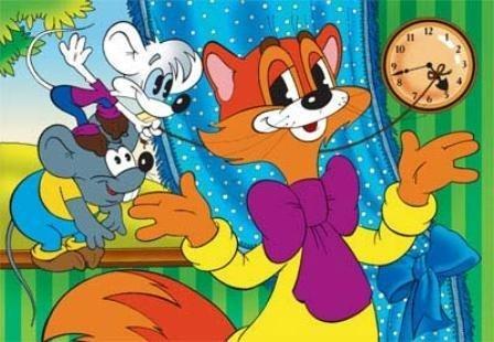 Любимые веселые песенки из мультфильма про доброго кота Леопольда :)