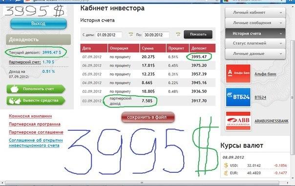 Отчет 03.09.2012 по 07.09.2012